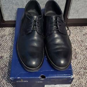 Stafford Black Dress Shoes Size 10.5